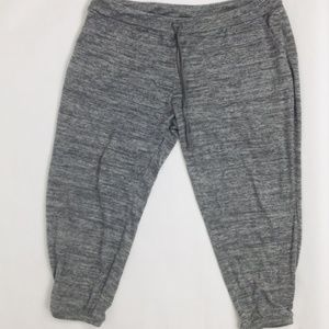 Soma Cropped Heather Gray Pajama Pant size 2X/XXL